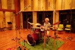 ドラム録音風景 深水洋 「Everything for Drums」より