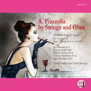 UNAHQ 2011-1 A.Piazzolla by Strings and Oboe